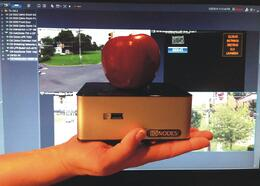 IONODES_CR40_compared_to_an_Apple_image_-_small