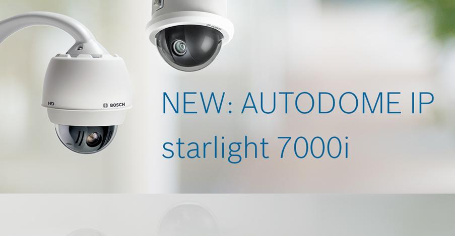 AUTODOME IP starlight 7000i Release Image