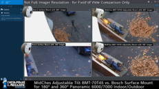 Adjustable Tilt BMT-70T45 vs Bosch Surface Mount 180-360° - 1-1