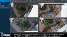 Adjustable Tilt BMT-70T45 vs Bosch Surface Mount 180-360° - 2