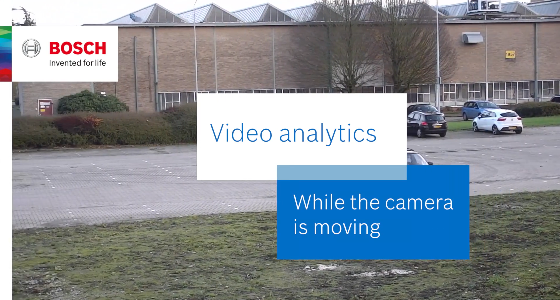 Analytics while moving