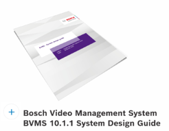 BVMS 10.1.1 System Design Guide download tab