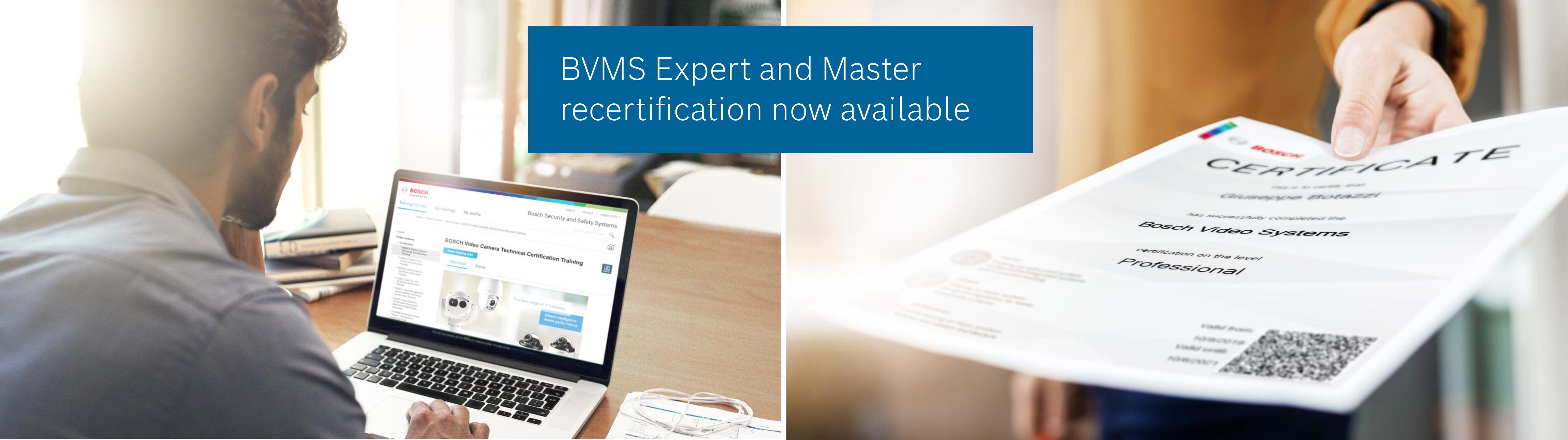 BVMS Recertification image