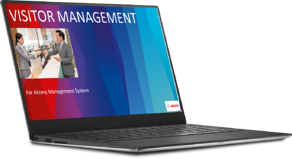 Bosch AMS Visitor Management module overview image