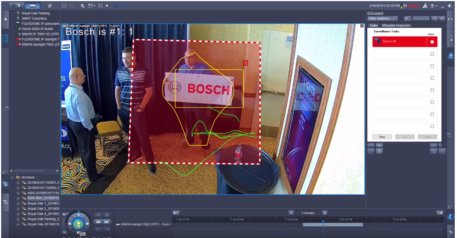 Bosch Camera Trainer video thumbnail- Trinklein