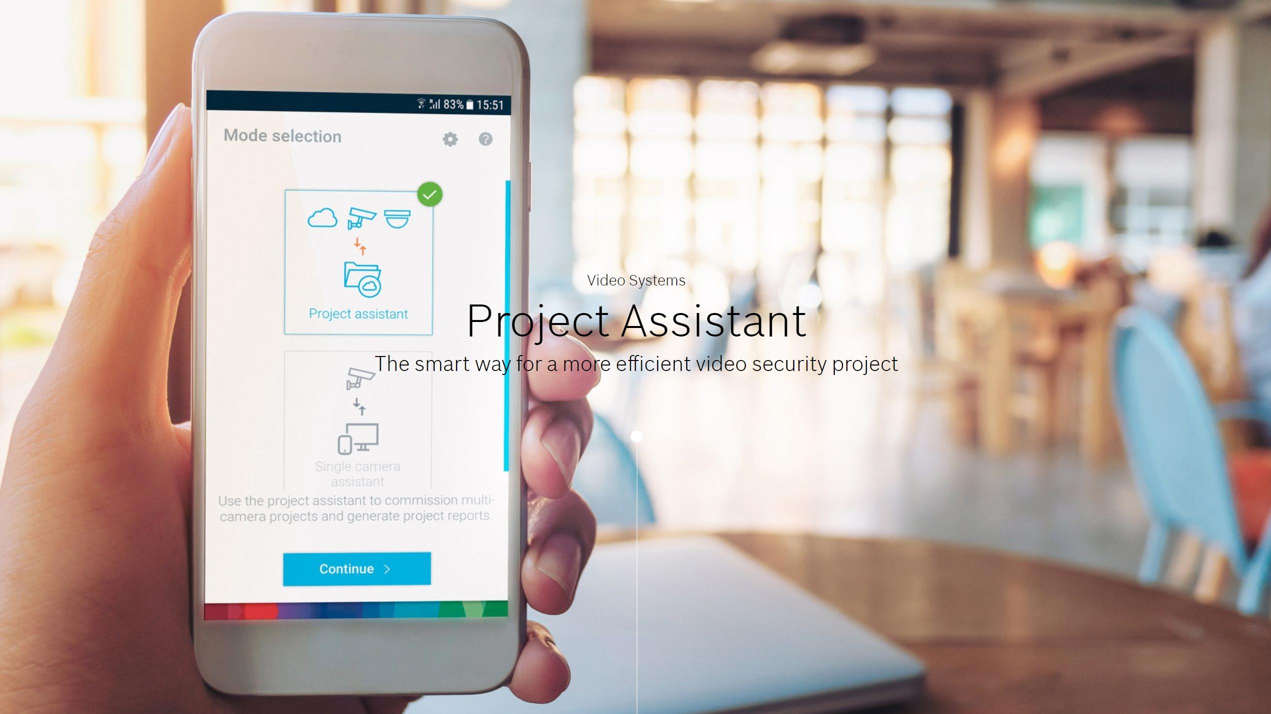 Bosch Project Assistant web image
