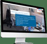 Bosch Quick Deployment Emergency Notification Solutions QDEN v3 Presentation - Computer image