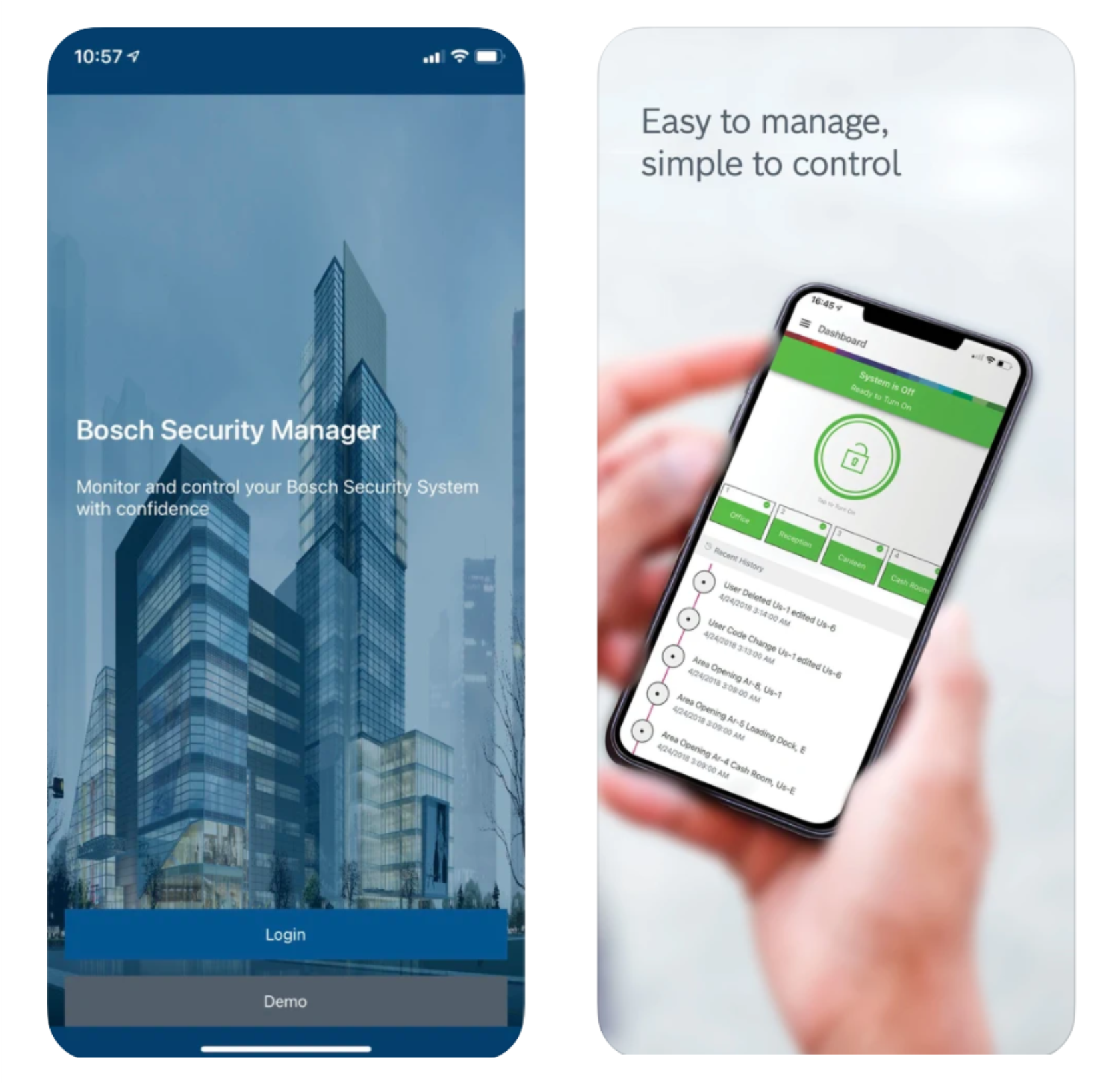Bosch Security Manager App Image 1