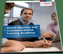 Bosch Training Academy Catalog magazine cover