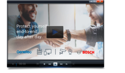Bosch and Genetec Video image video player