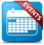 Calendar icon - blue