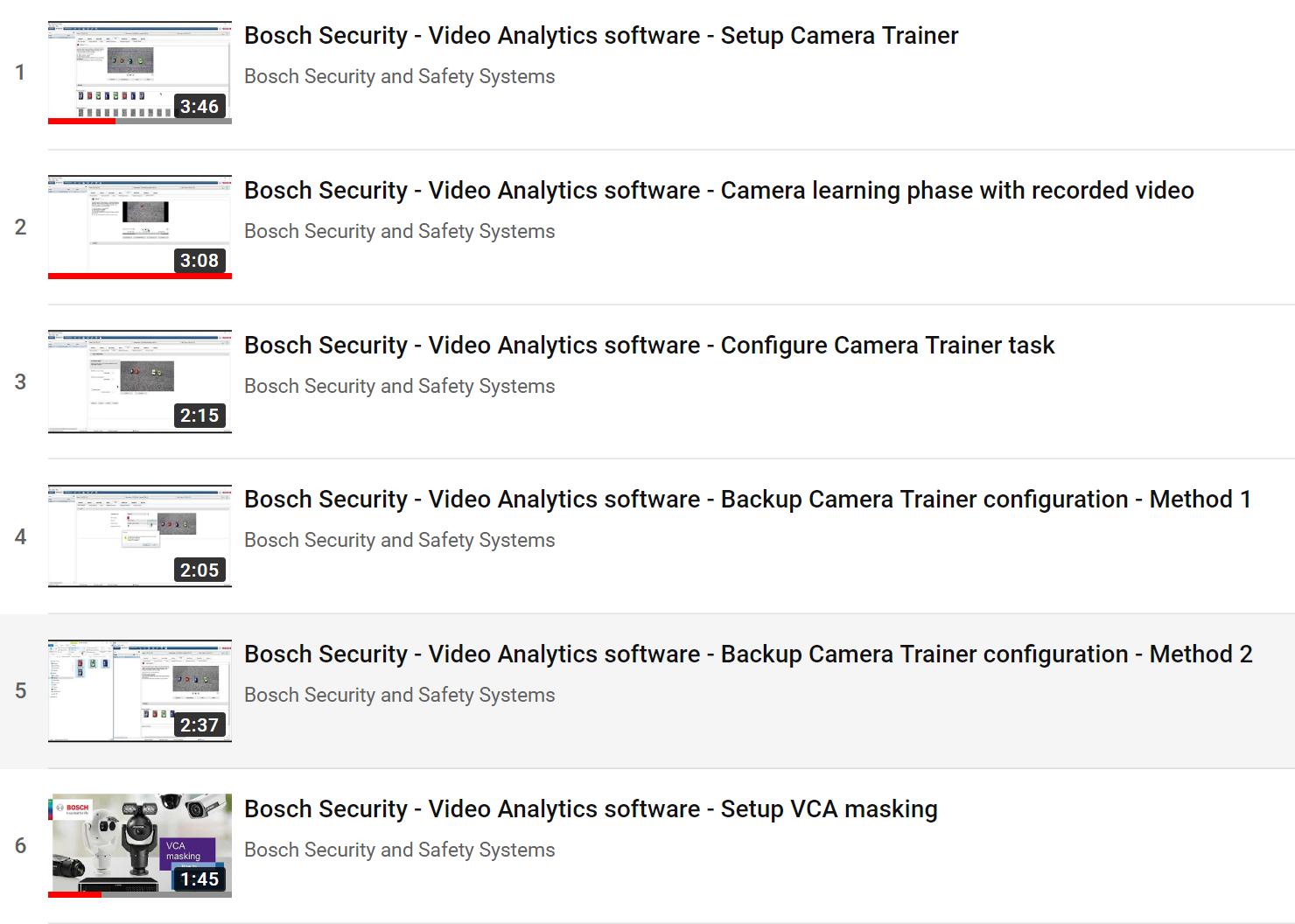 Camera Trainer Setup Playlist image