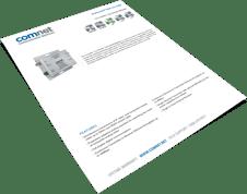 ComNet CLTVE1COAXPOE-M data sheet cover