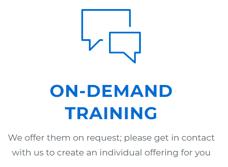 Commend Custom Virtual Training graphic
