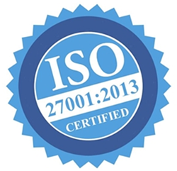 Commend ISO 27001-2013 certification image
