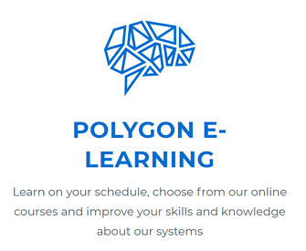 Commend Polygon E-Learning Logo