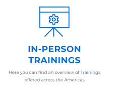 Commend in-person training graphic