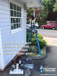 Comnet Netwave Demo - proof of concept demo rig