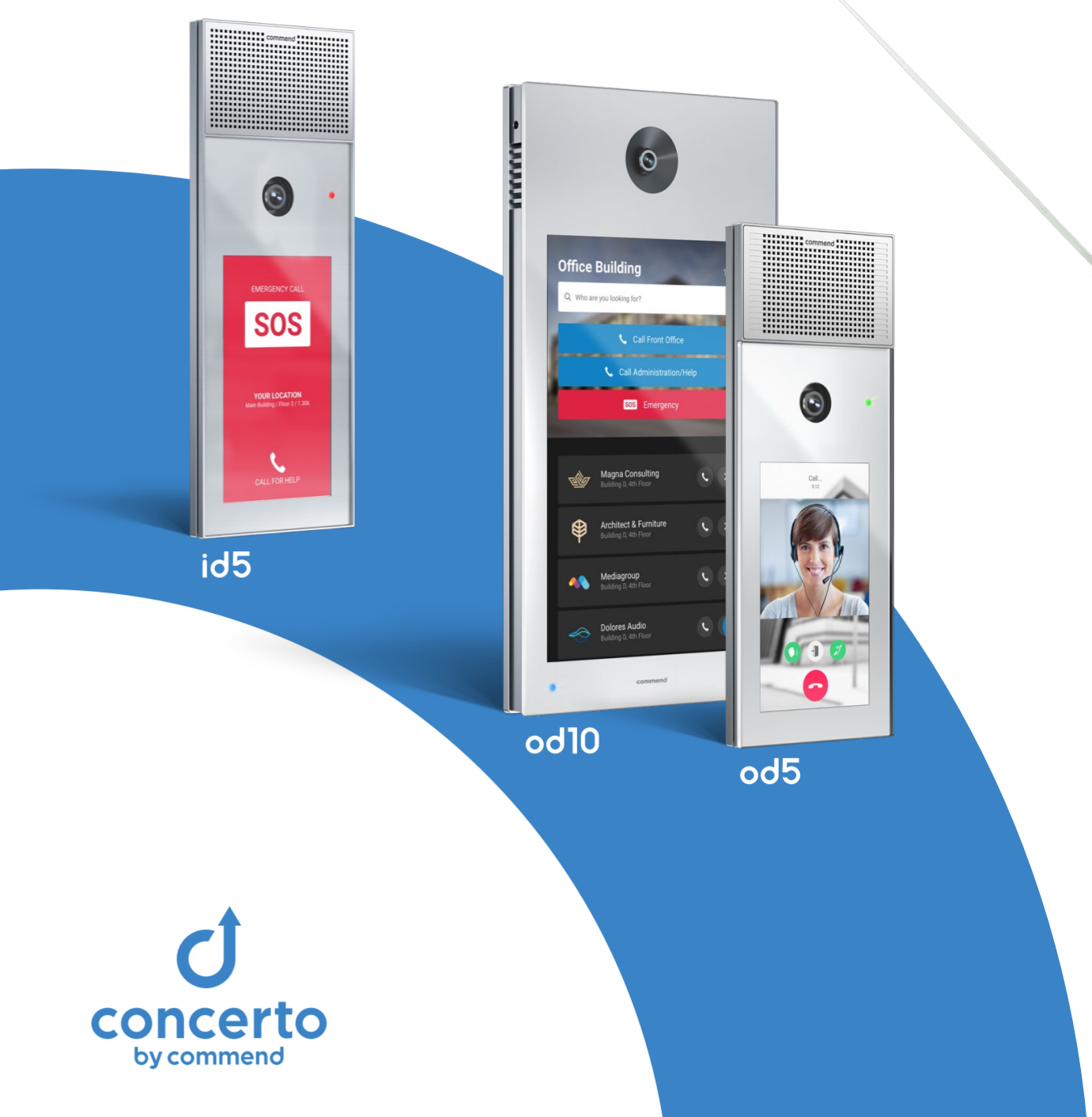 Concerto intercom image