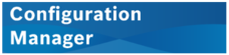 Configuration Manager logo bar