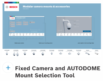 Fixed Camera Mount Selection Guide