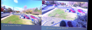 Flat versus 45-degree panoramic mount image 6-1