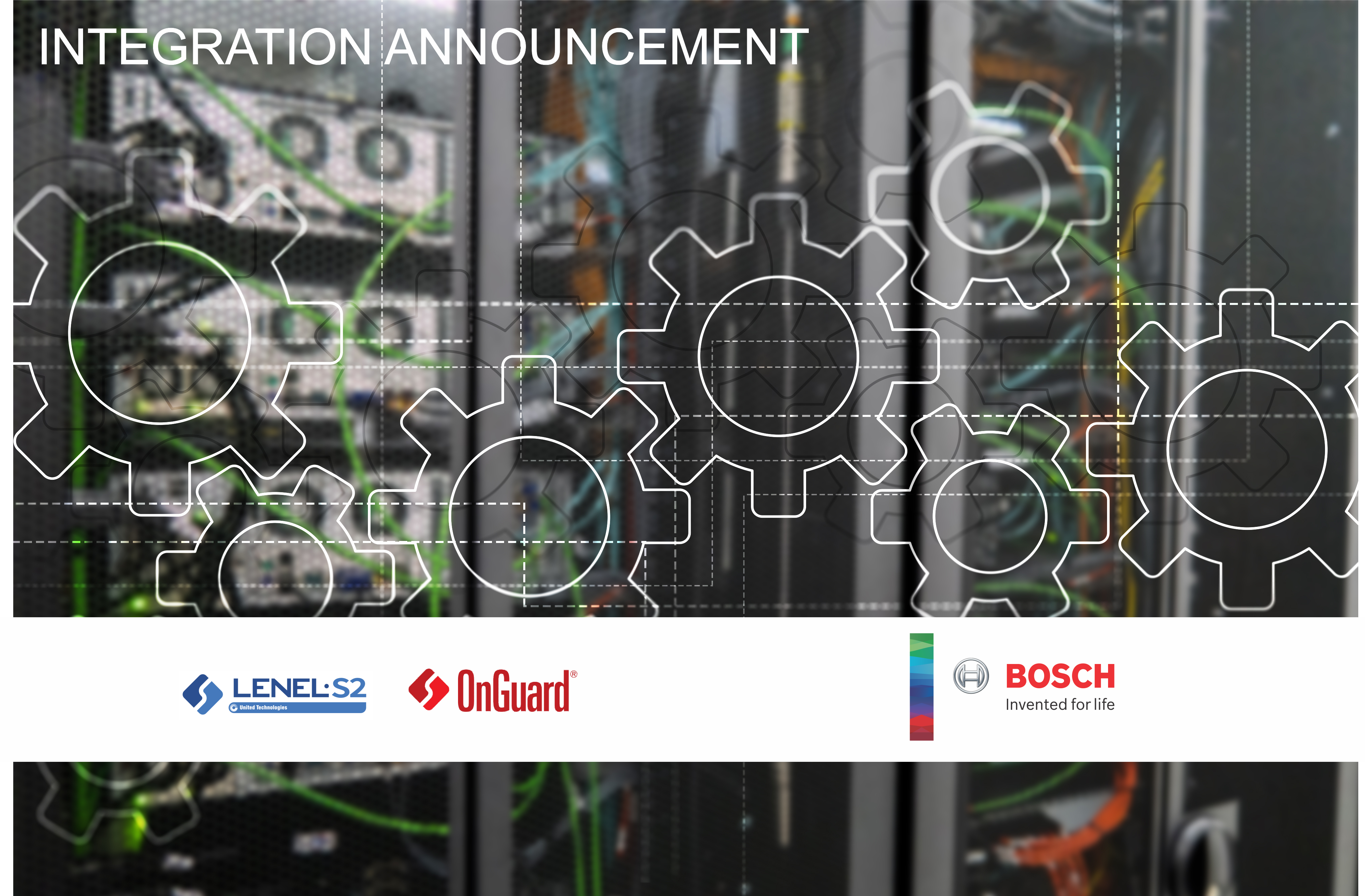 Lenel OnGuard and Bosch Integration Announcement image