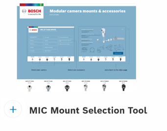 MIC Mount Selection Guide