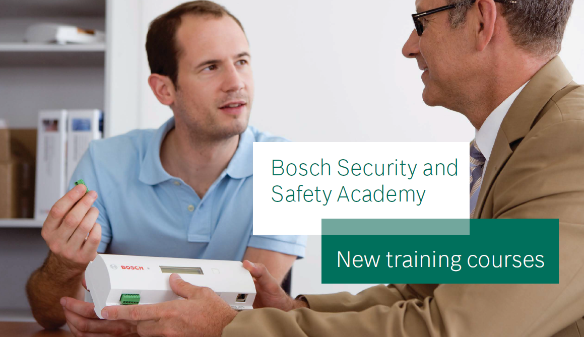 New Bosch Training Classes cover image
