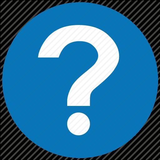 Question Mark Blue Transparent Circle.png