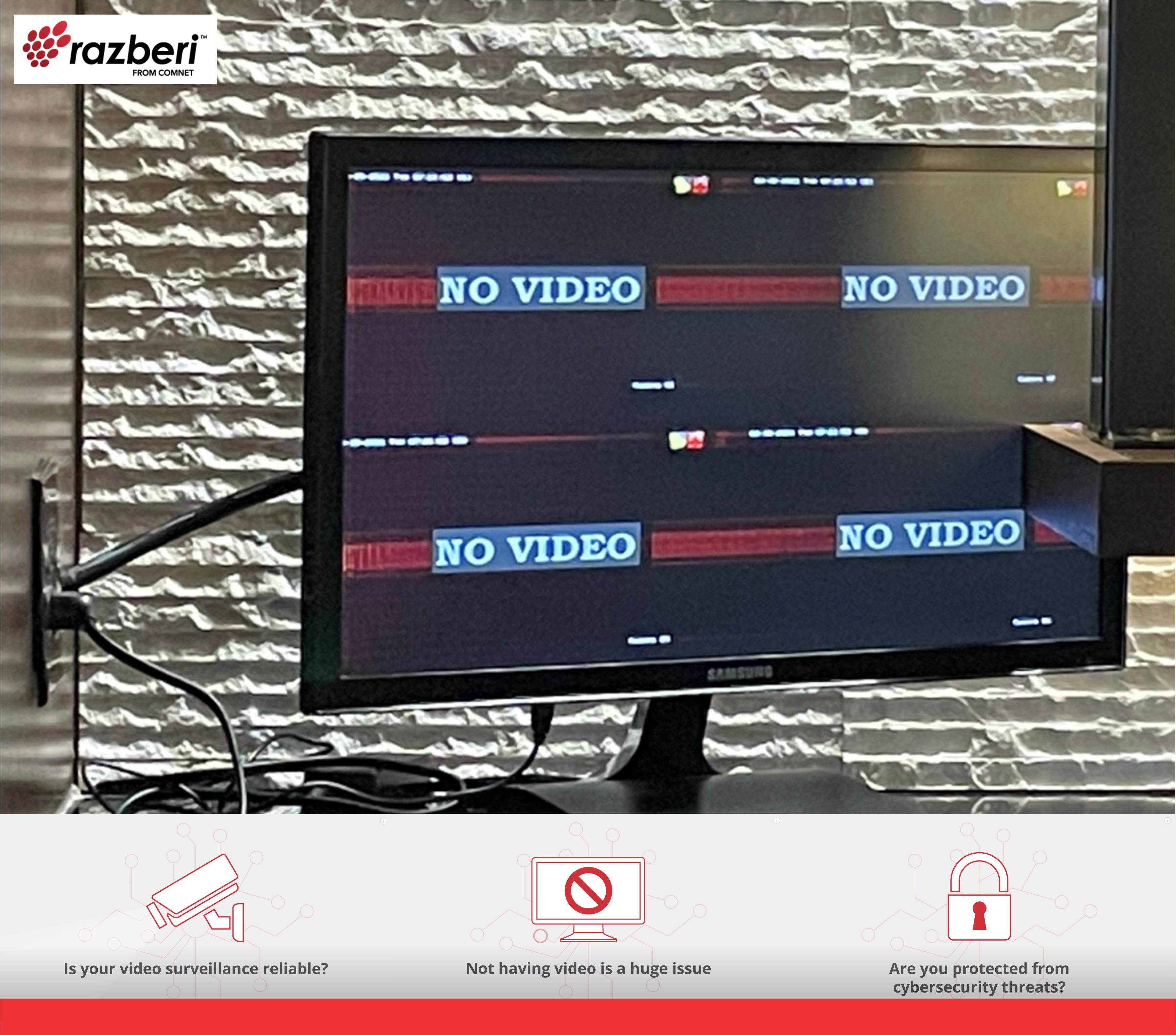 Razberi Video Loss Image