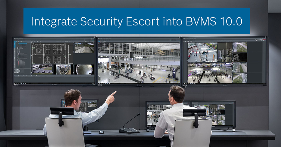 Security Escort and BVMS Integration image
