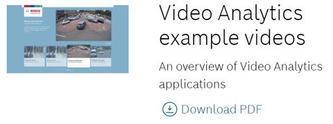 Video Analytics example videos image
