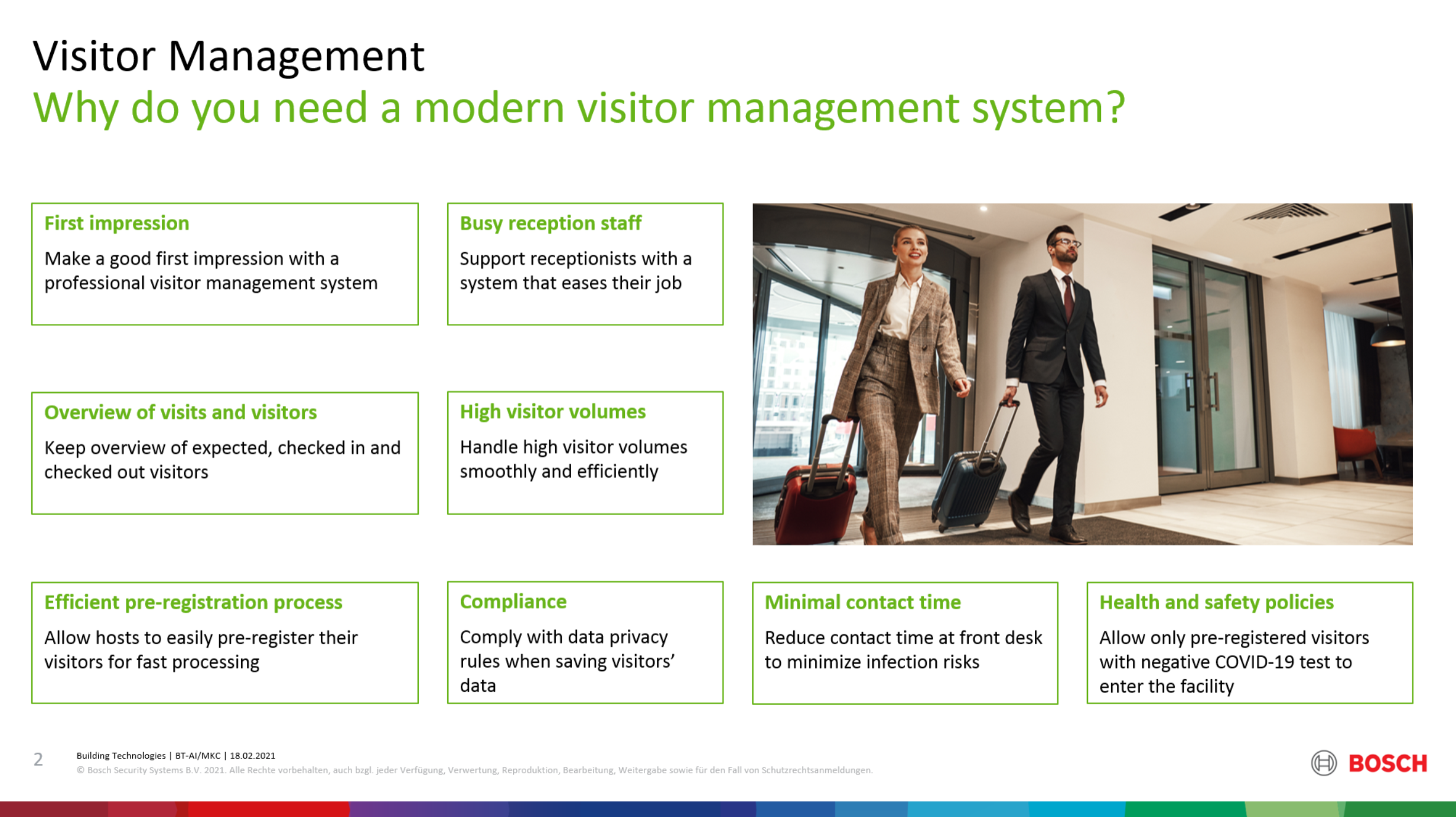 Why visitor management image