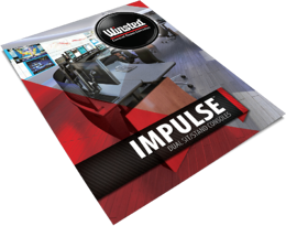 Winsted Impulse Dual Sit-Stand Console brochure image - magazine