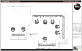 Winsted Project of the Month - January 2020 - overhead diagram 1